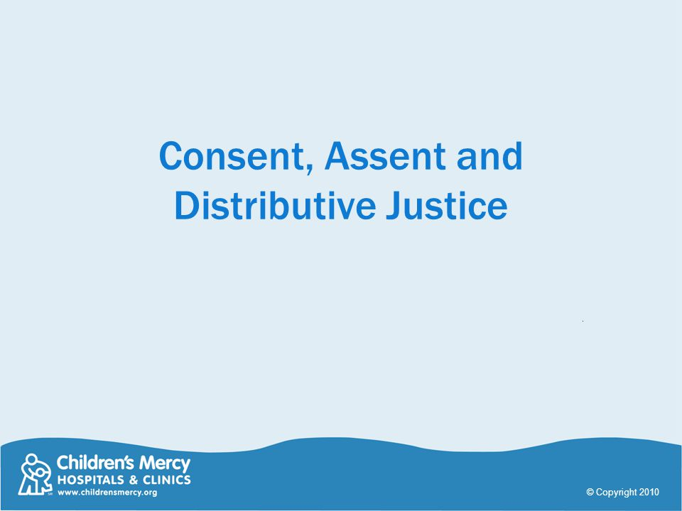 Consent, Assent and Distributive Justice