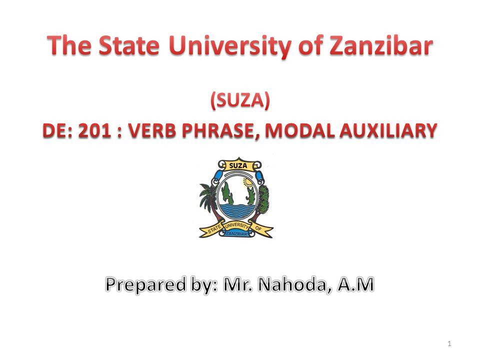 The State University of Zanzibar