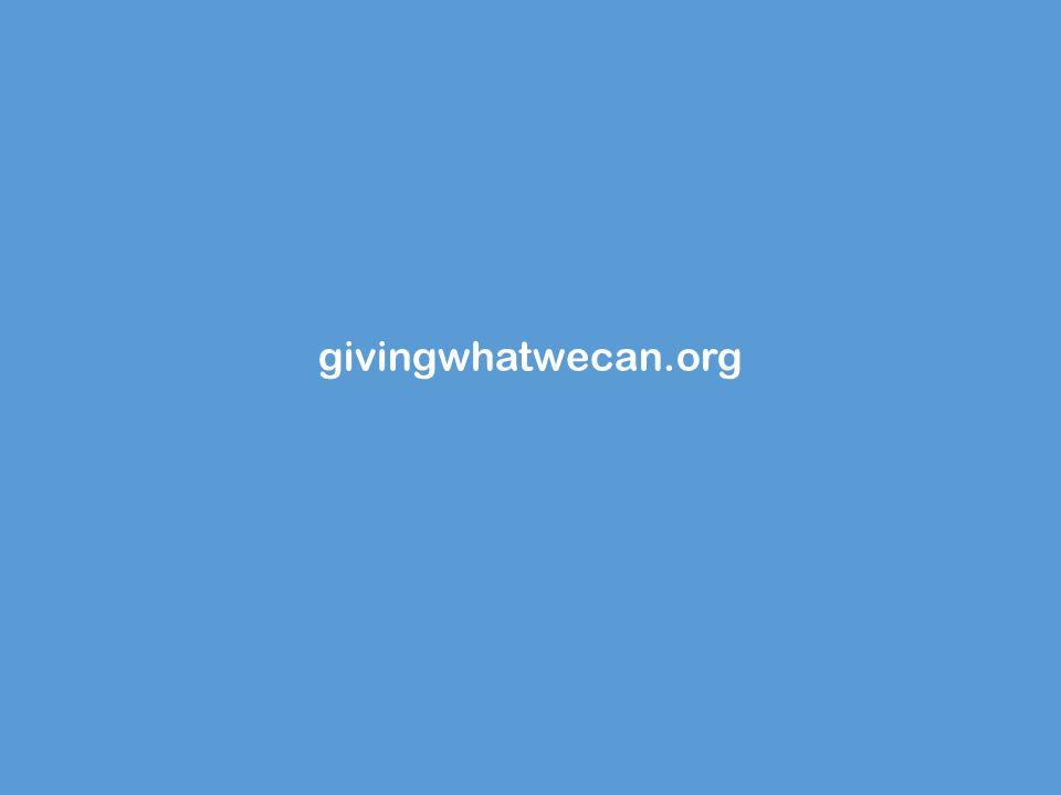 givingwhatwecan.org
