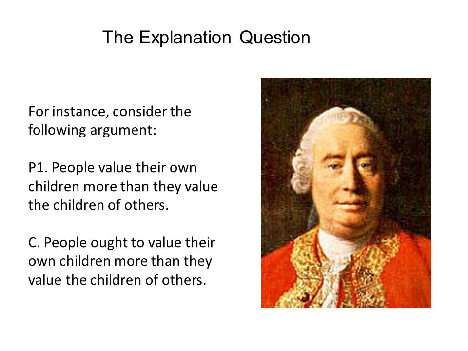The Explanation Question