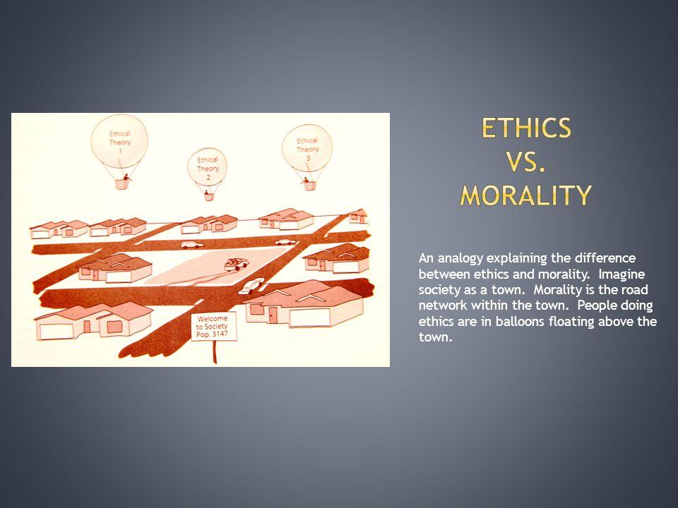 Ethics vs. Morality