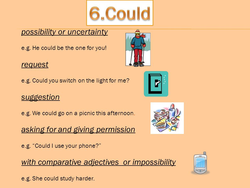 6.Could possibility or uncertainty request suggestion