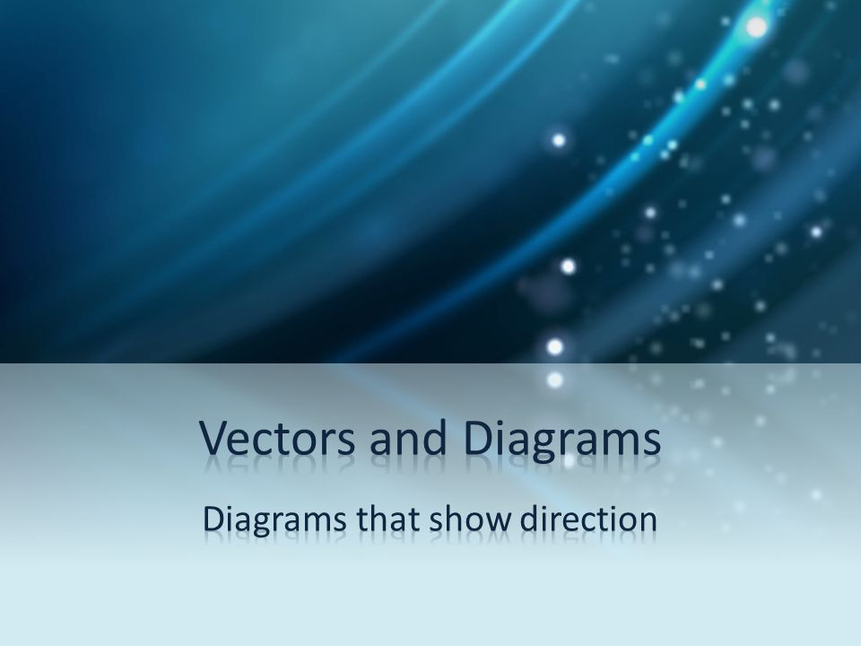 Diagrams that show direction