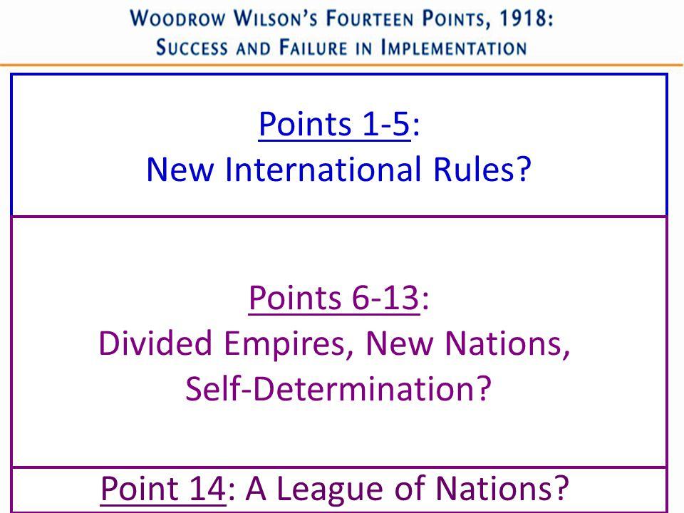 New International Rules