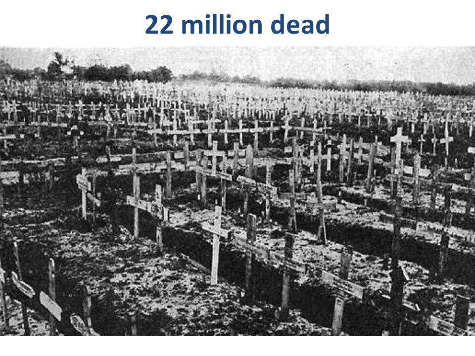 22 million dead