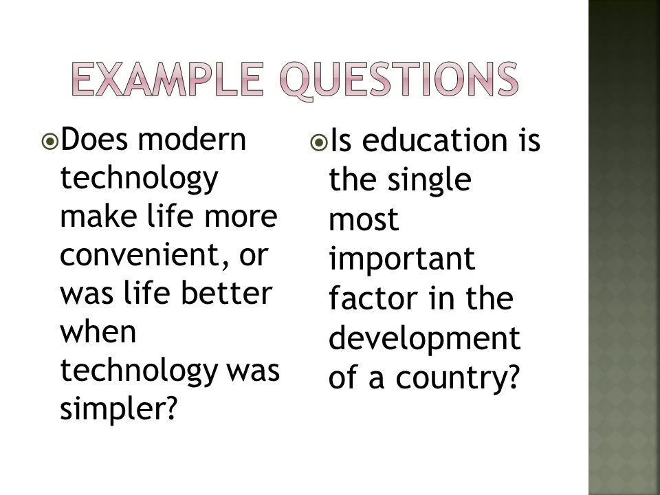 Argumentative essay on technology simplifies modern life