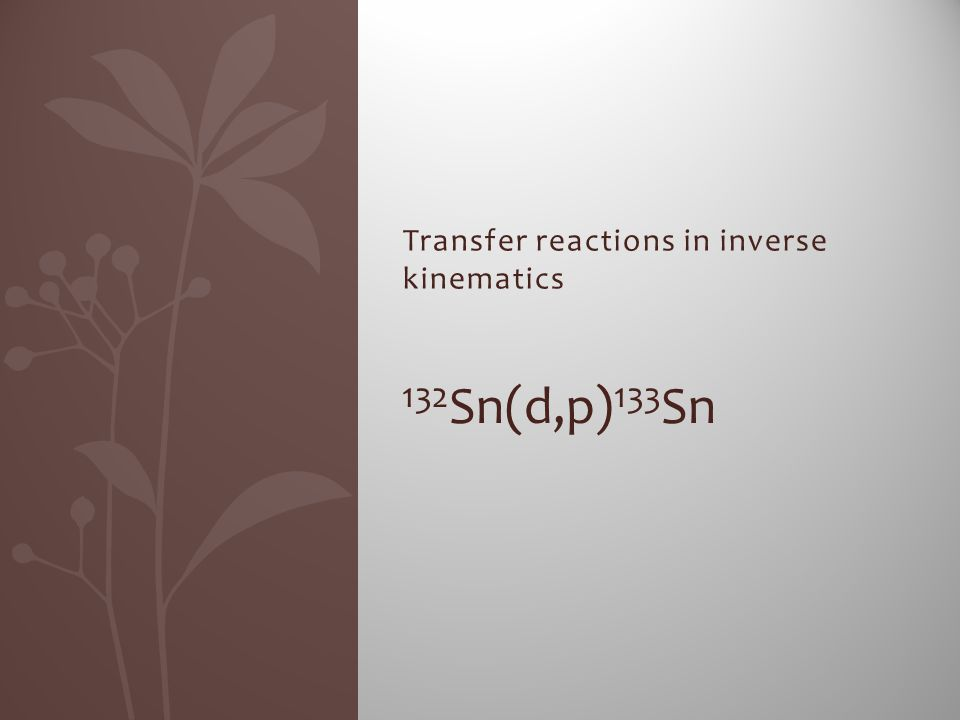 Transfer reactions in inverse kinematics