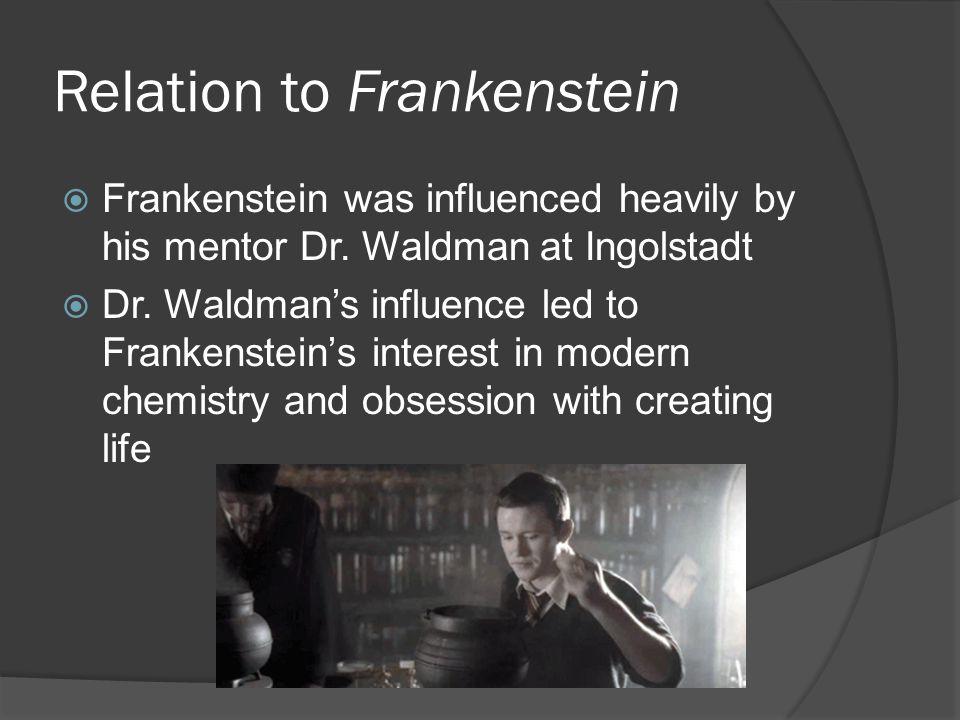 Relation to Frankenstein