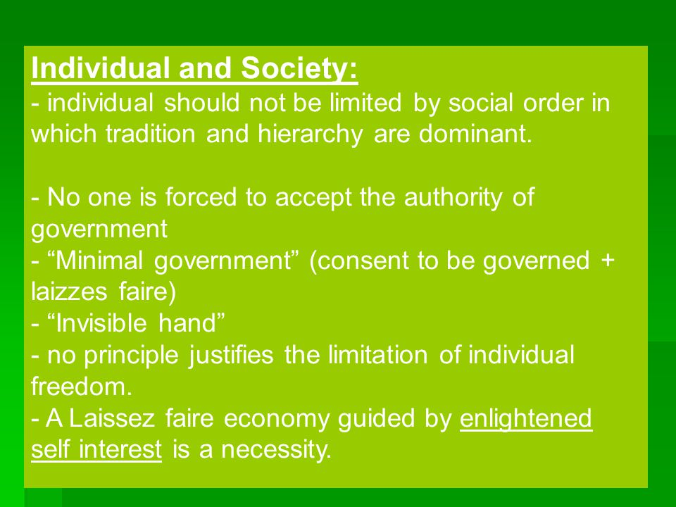 Individual and Society: