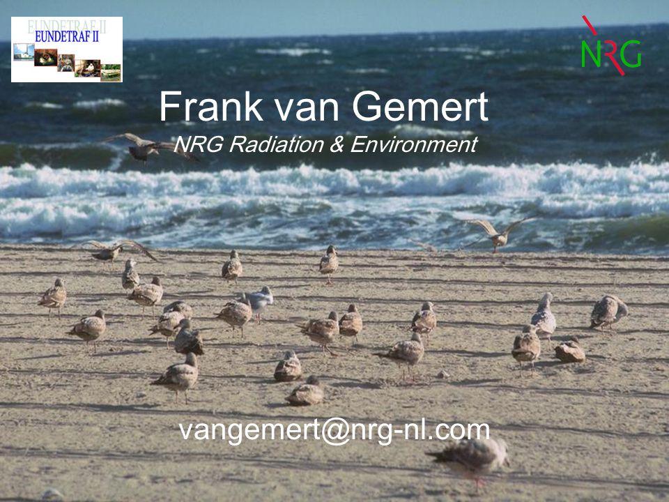 Frank van Gemert NRG Radiation & Environment