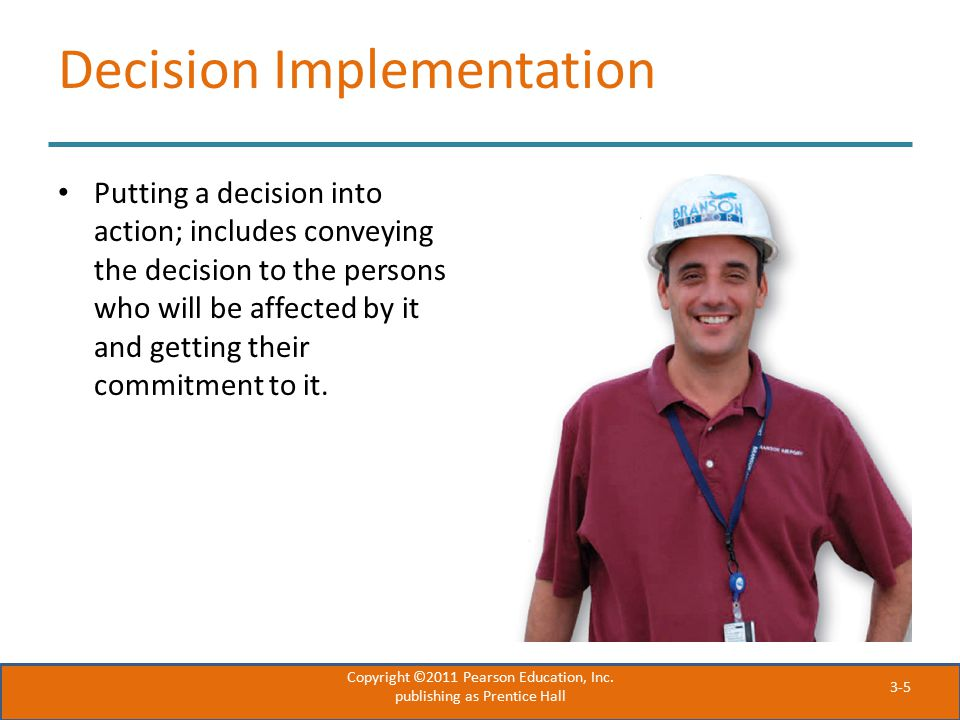 Decision Implementation