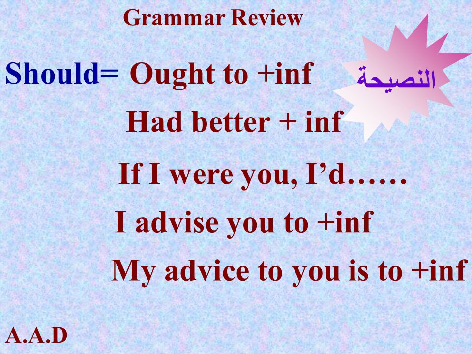 My advice to you is to +inf