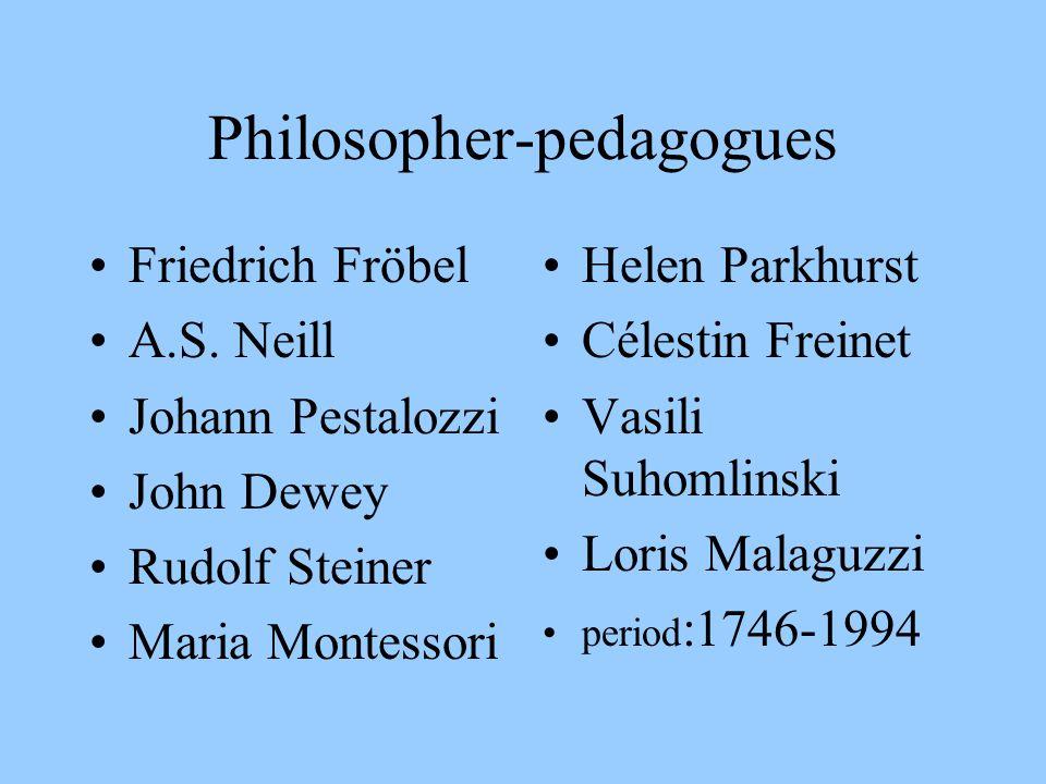 Philosopher-pedagogues
