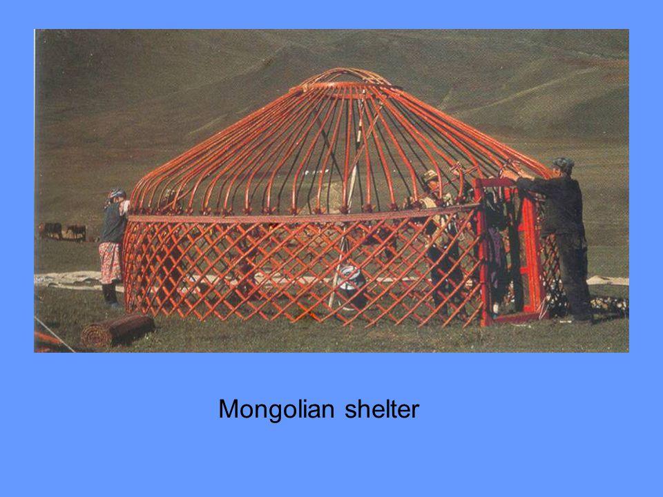 Mongolian shelter
