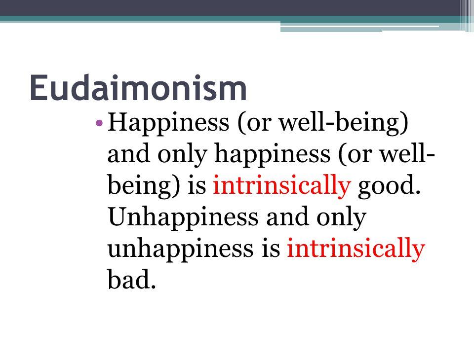 Eudaimonism
