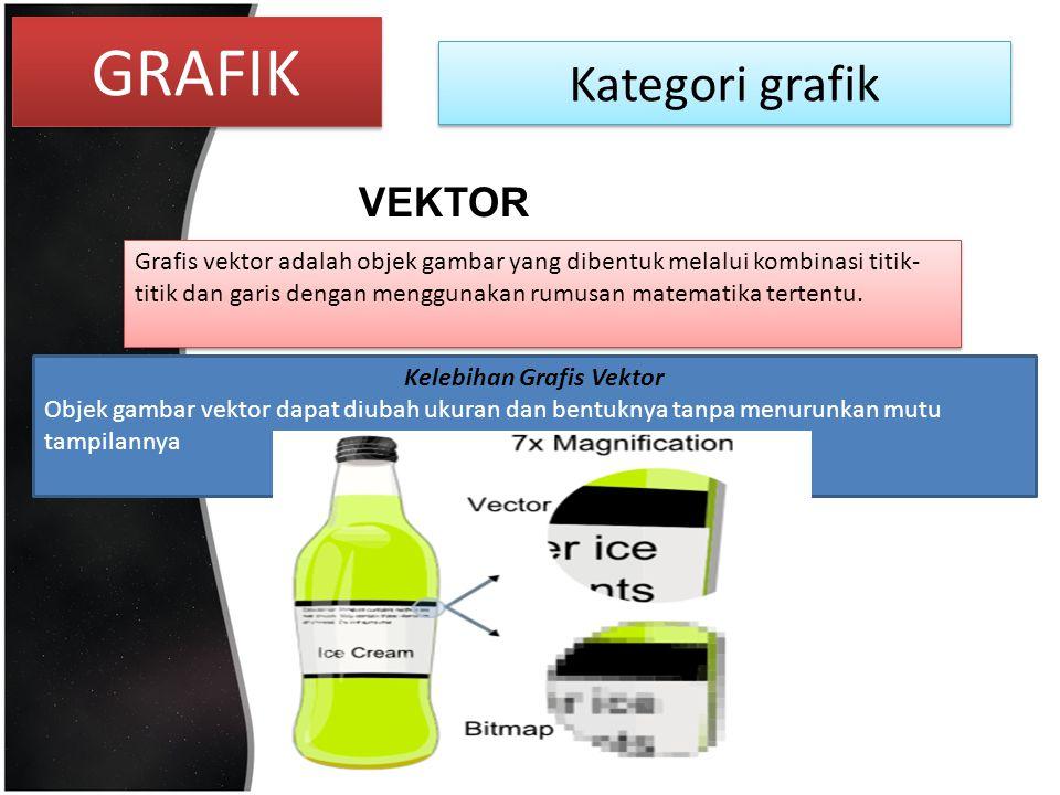 Kelebihan Grafis Vektor