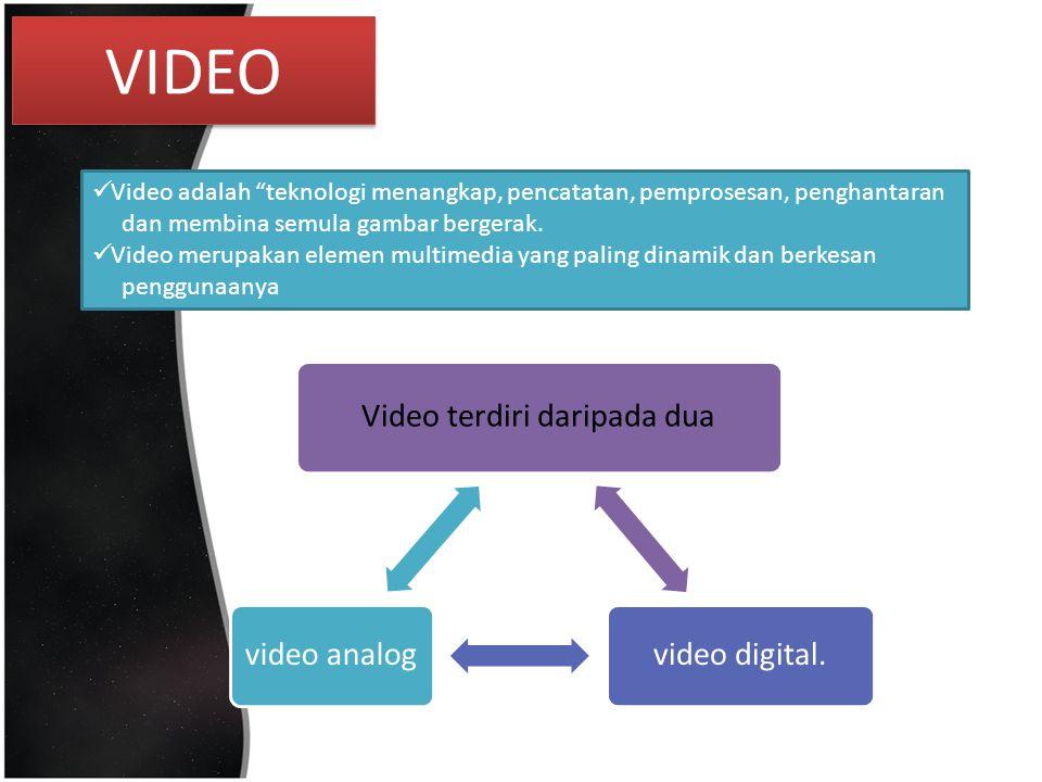 Video terdiri daripada dua