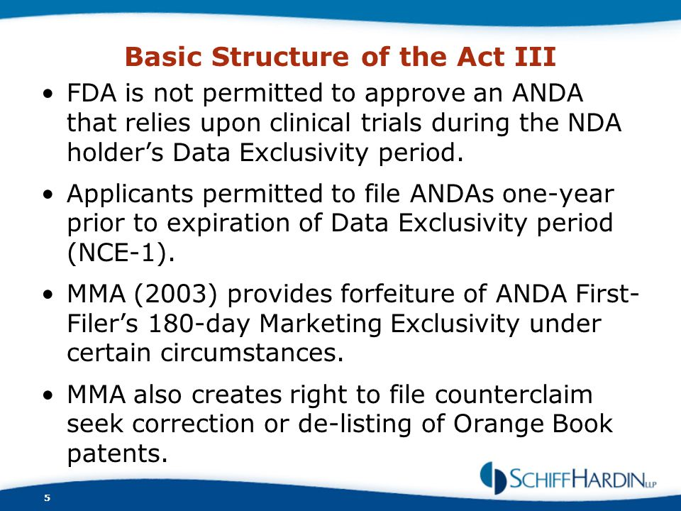 Basic Structure of the Act III