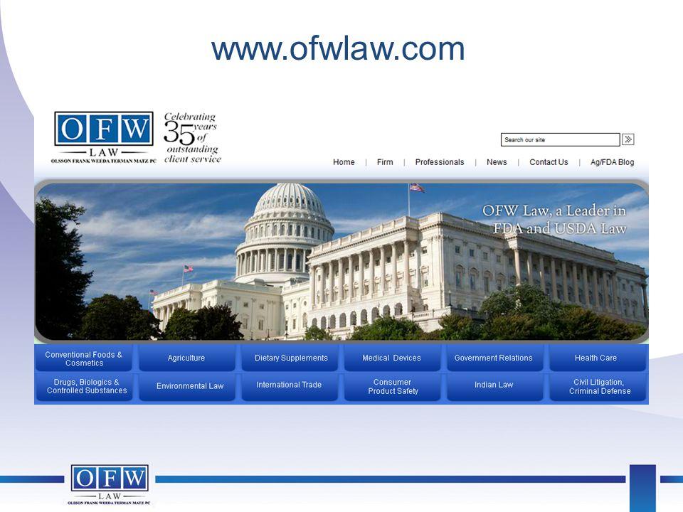 www.ofwlaw.com