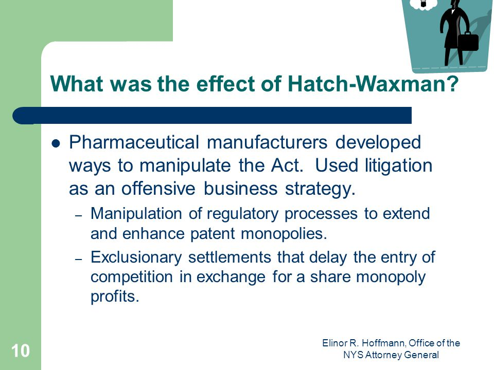 What was the effect of Hatch-Waxman