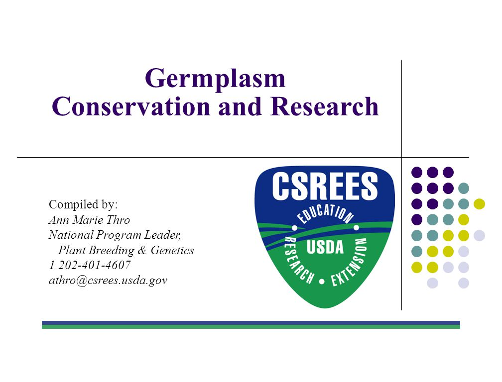 Conservation and Research