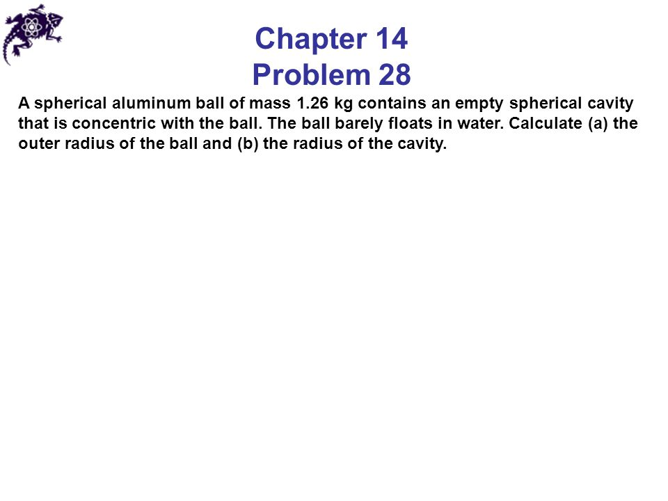 Chapter 14 Problem 28.