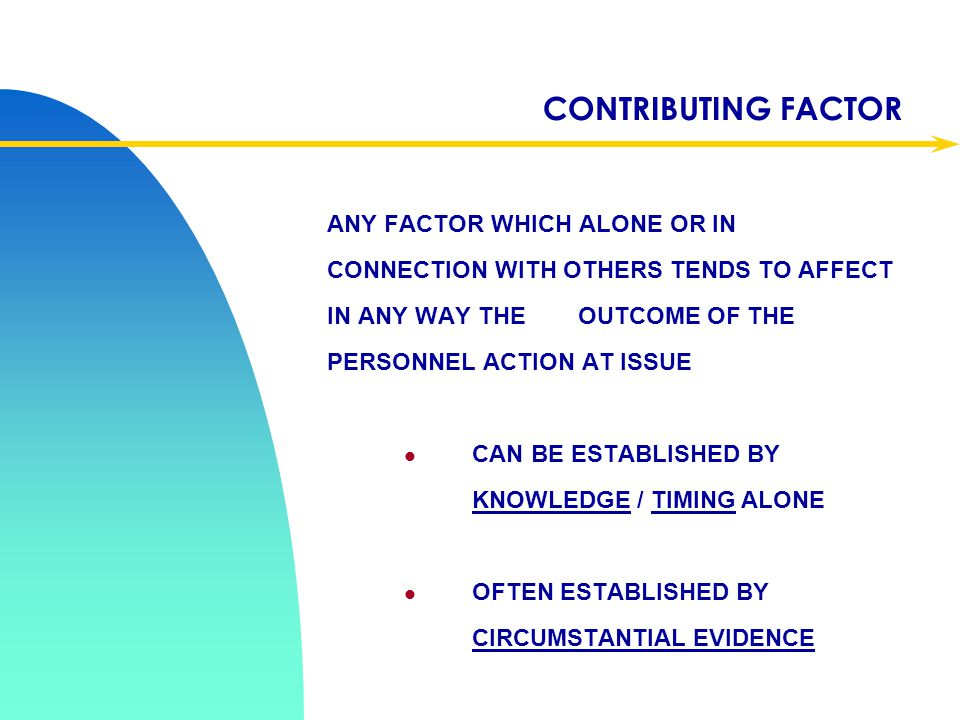 Apr-17 CONTRIBUTING FACTOR.