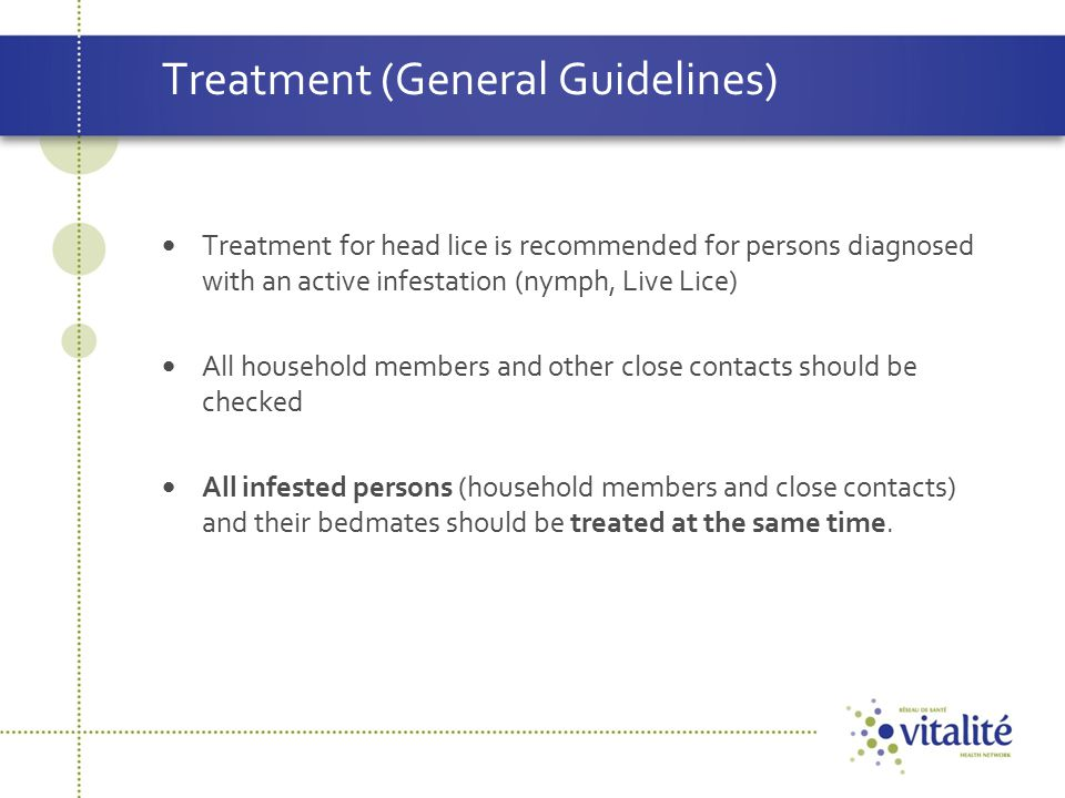 Treatment (General Guidelines)