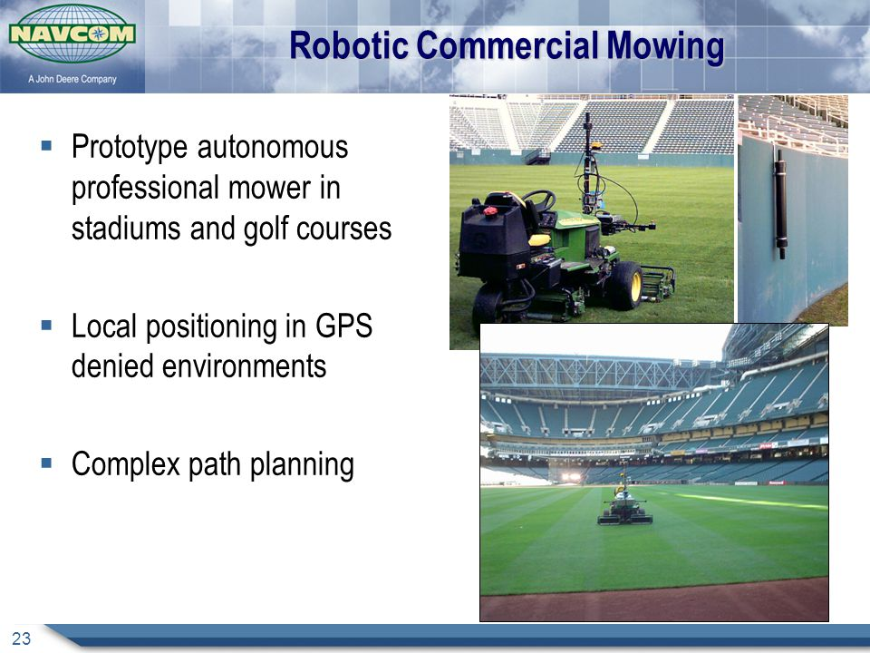 Robotic Commercial Mowing