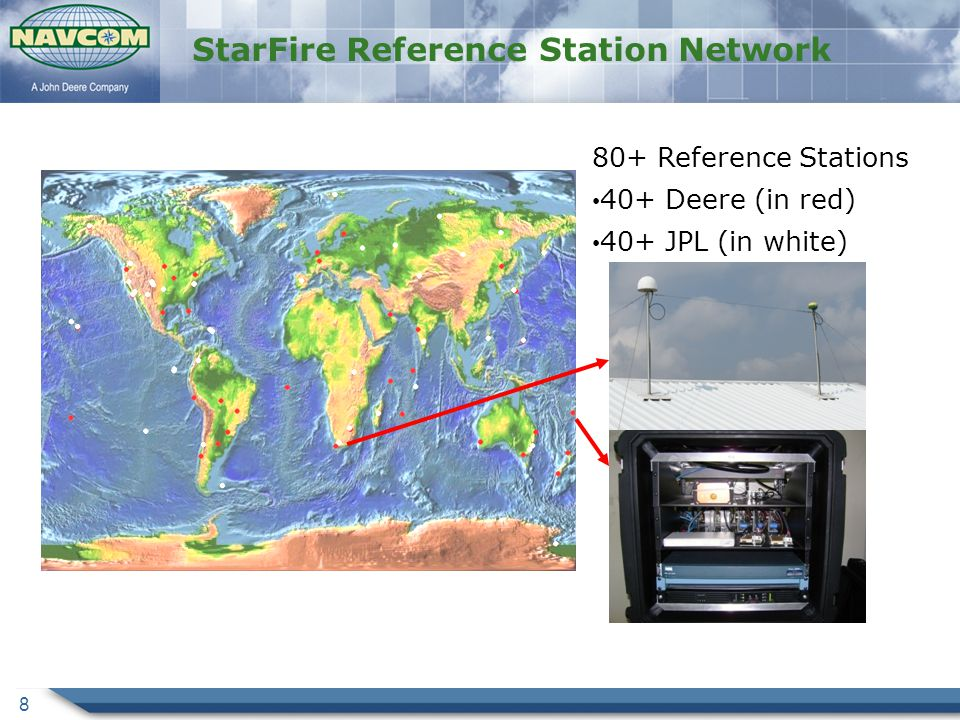StarFire Reference Station Network