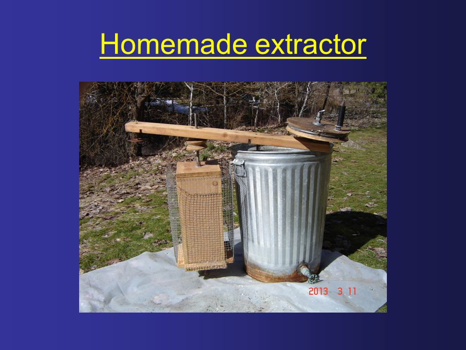Homemade extractor
