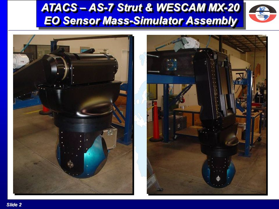 ATACS – AS-7 Strut & WESCAM MX-20 EO Sensor Mass-Simulator Assembly