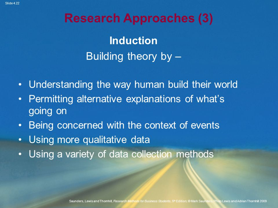 Research Approaches (3)