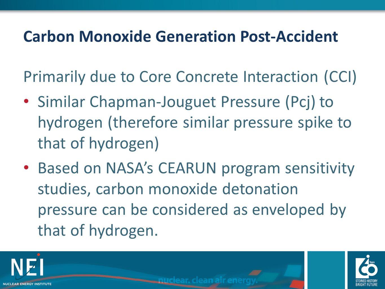 Carbon Monoxide Generation Post-Accident