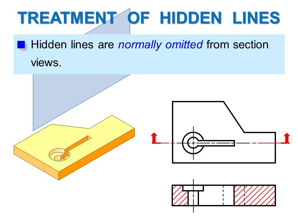TREATMENT OF HIDDEN LINES