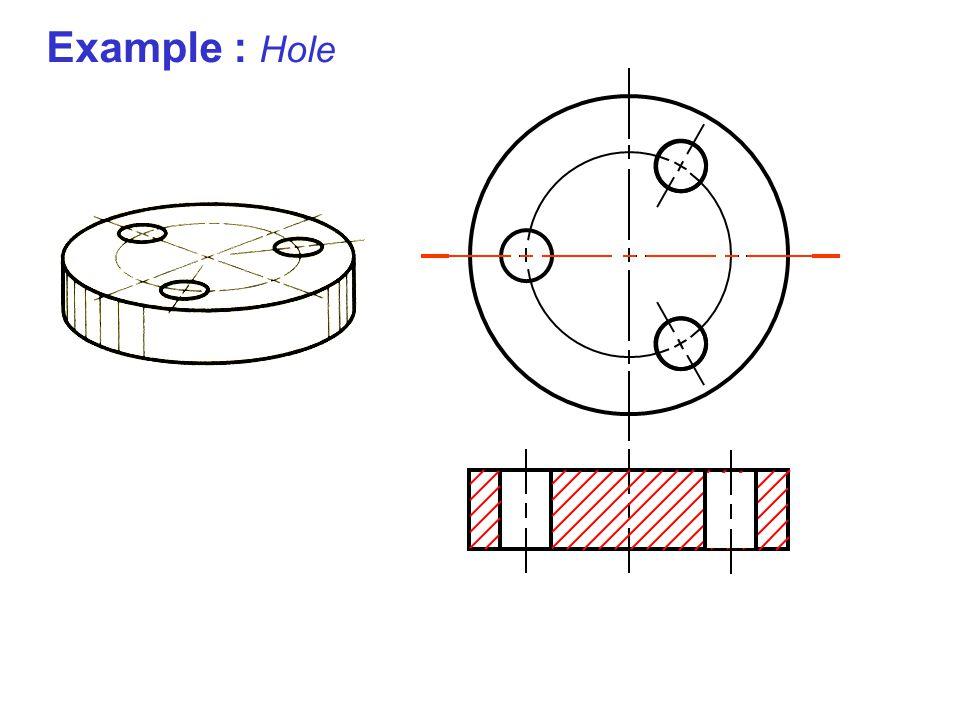 Example : Hole