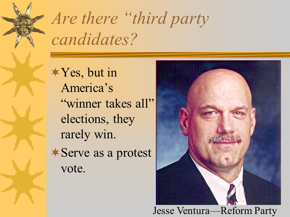 Are there third party candidates