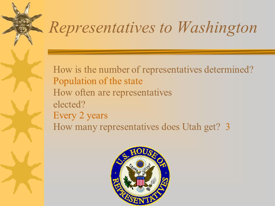 Representatives to Washington