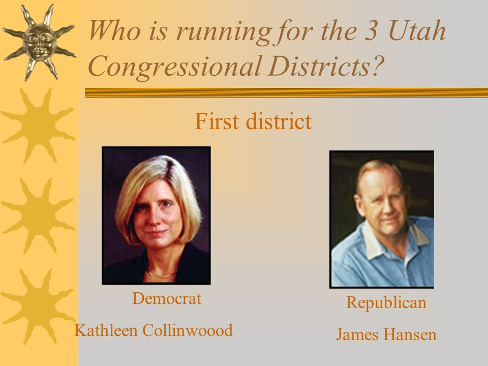 Who is running for the 3 Utah Congressional Districts