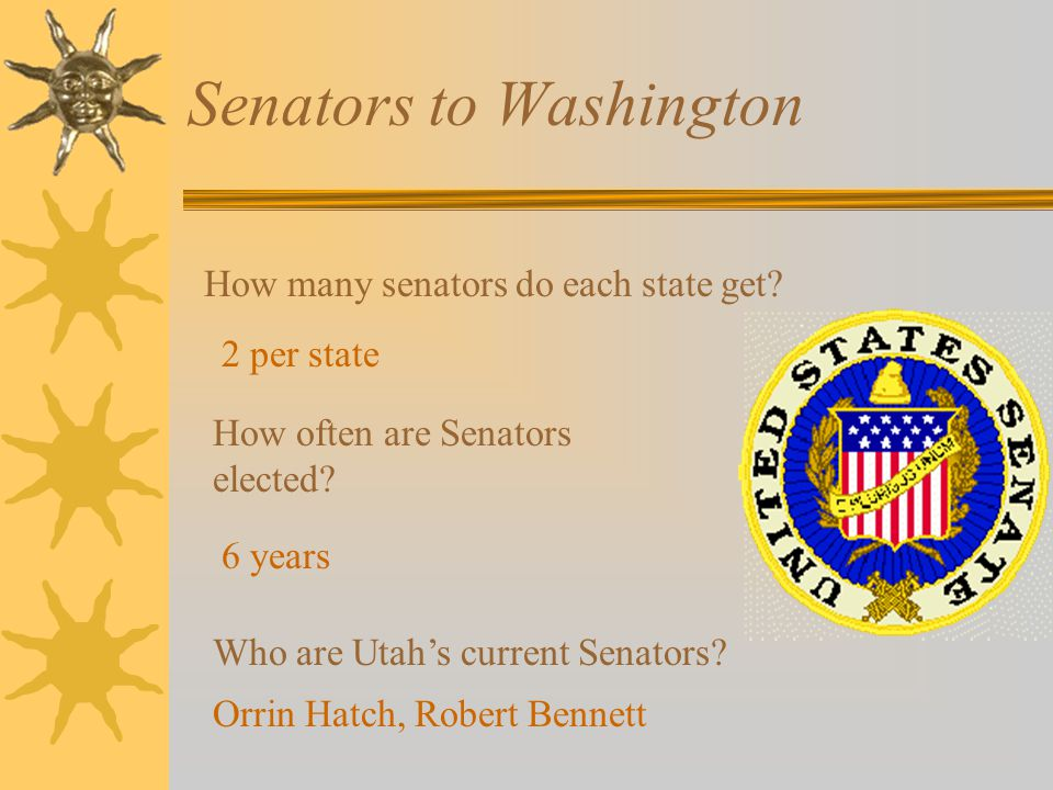 Senators to Washington