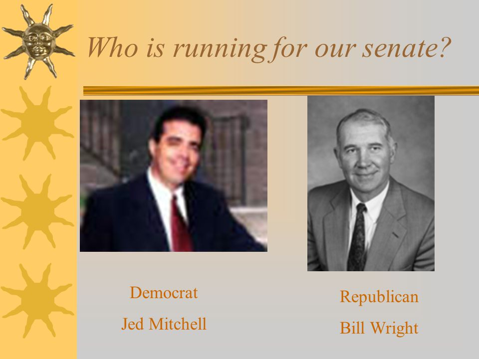 Who is running for our senate