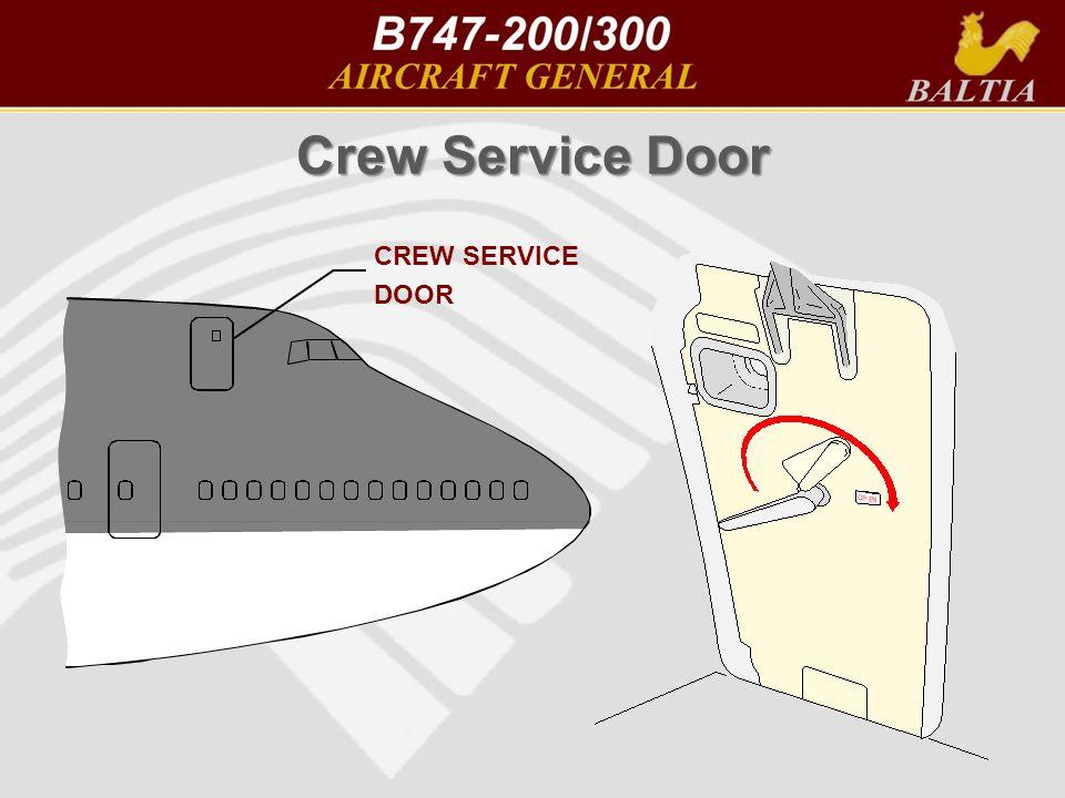 Crew Service Door CREW SERVICE DOOR AOM v2 Crew Service Door