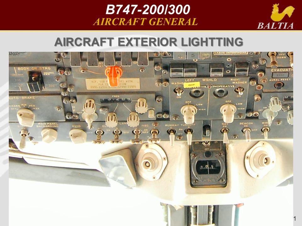 AIRCRAFT EXTERIOR LIGHTTING