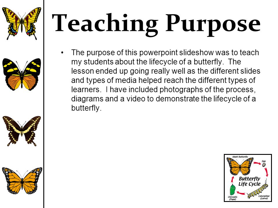 Teaching Purpose
