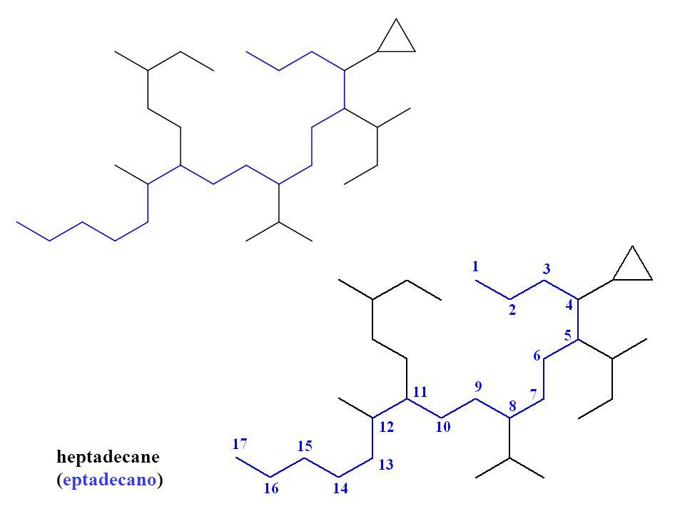 heptadecane (eptadecano)