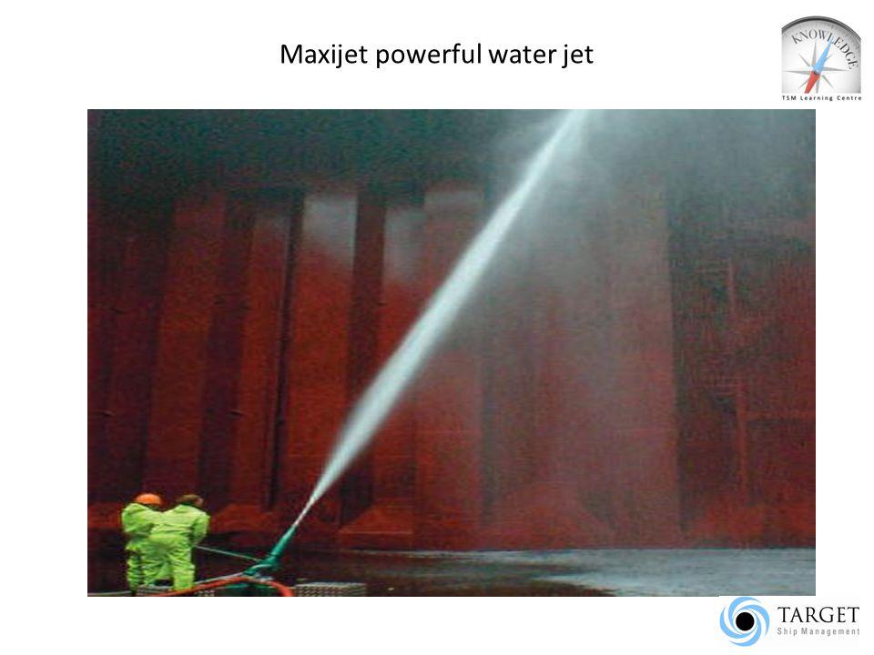 Maxijet powerful water jet