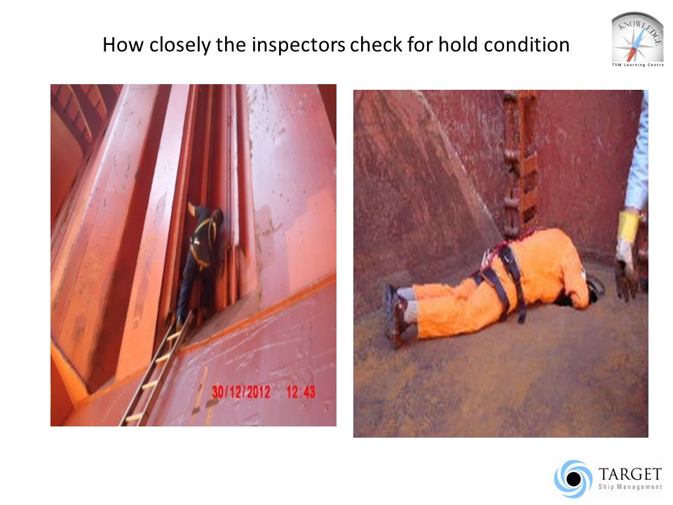 How closely the inspectors check for hold condition