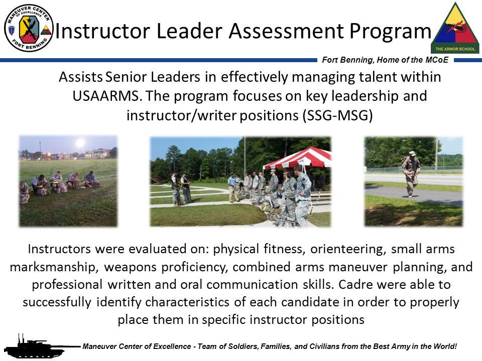 Instructor Leader Assessment Program