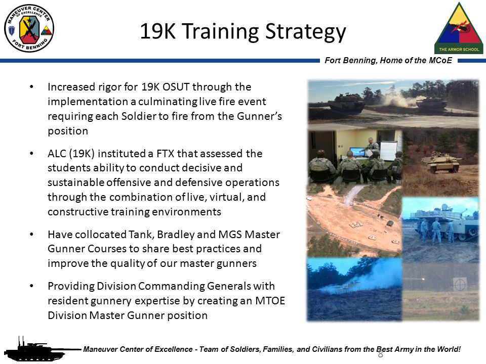 19K Training Strategy