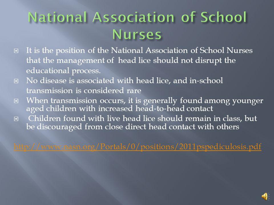 National Association of School Nurses